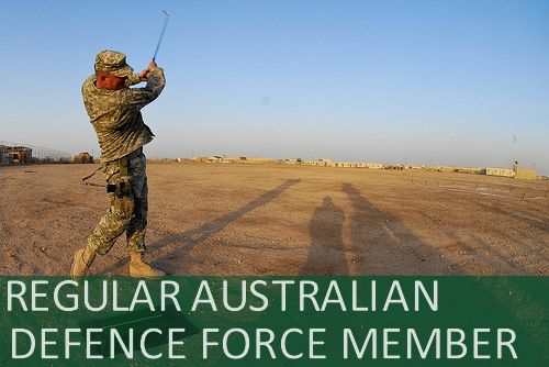 Regular Australian Defence Force Member